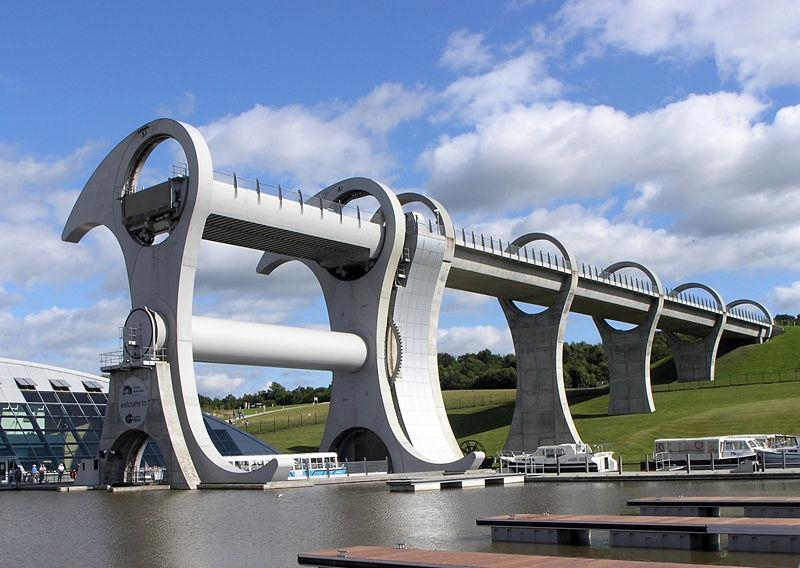 Vodeni točak Falkirk postao simbol savremene Škotske