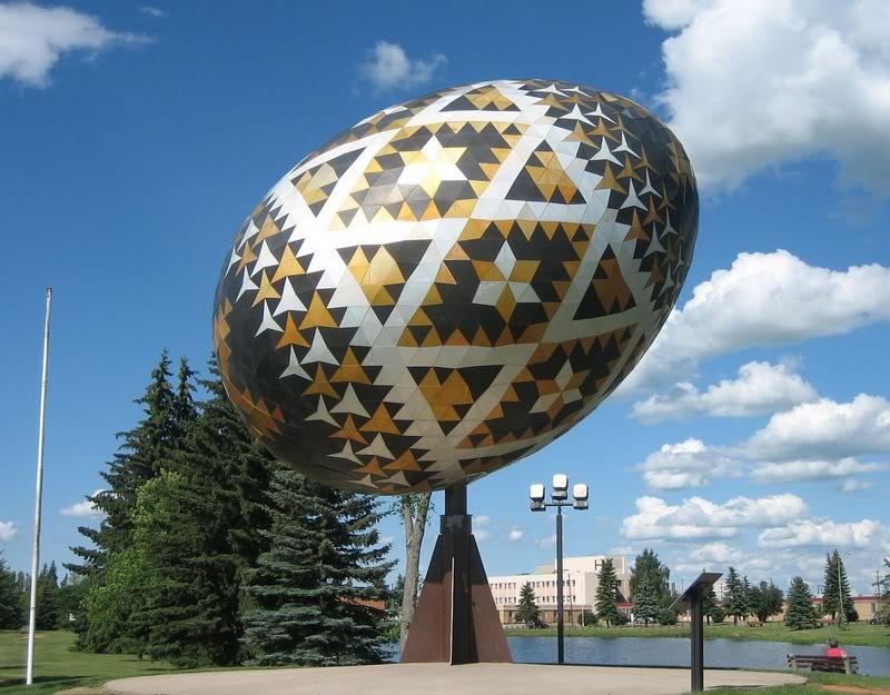 Zgrade u obliku uskršnjih jaja