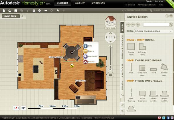 Isplanirajte enterijer uz pomoć Homestylera