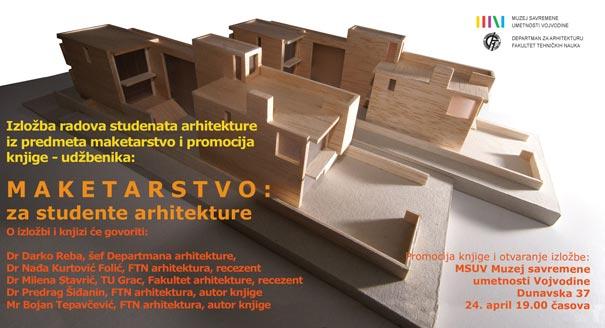Izložba maketa studenata arhitekture