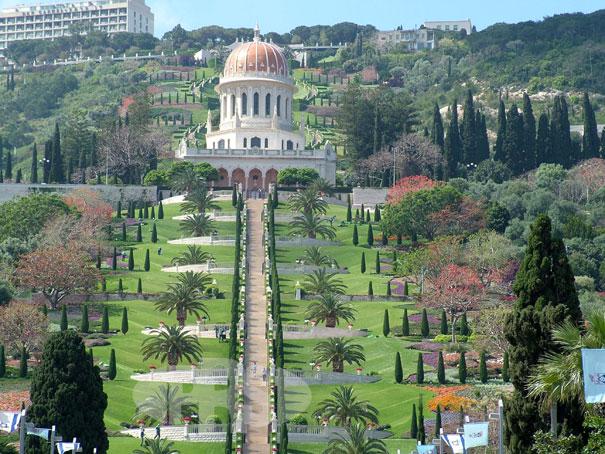 Viseći vrtovi u Haifi, Izrael