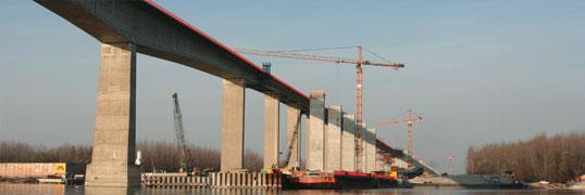 Beška je najveći most u izgradnji u Evropi