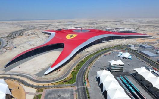 Ferrari World Abu Dhabi zabavni park