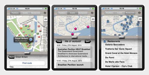 Venecijanski bijenale 2010 na iPhoneu