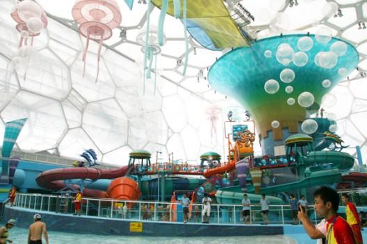 Water Cube pretvoren u zabavni park