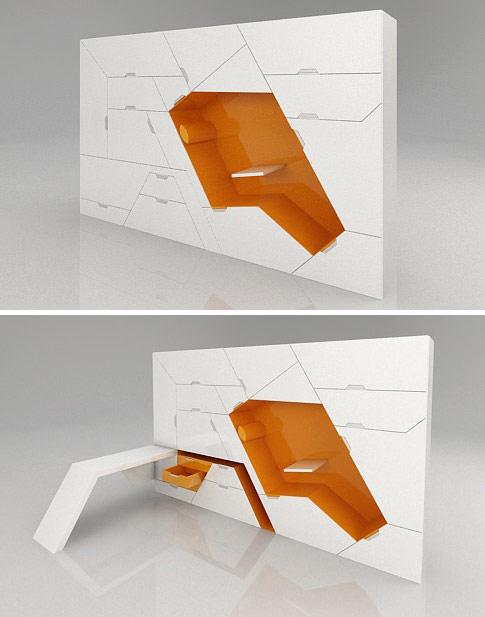 Modularni nameštaj za male prostore