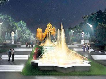 Gradi se muzička fontana na Tašu