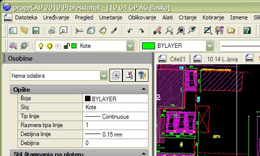 CAD na srpskom – progeCAD 2010 Professional SRL