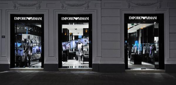Kako izgleda radnja Emporio Armani u Beogradu