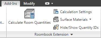 Revit Architecture Roombook Extension