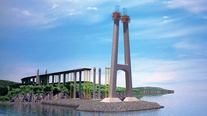 Najduži viseći most gradi se na kraju sveta