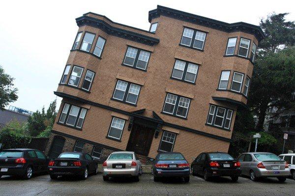Iskrivljena zgrada u San Francisku