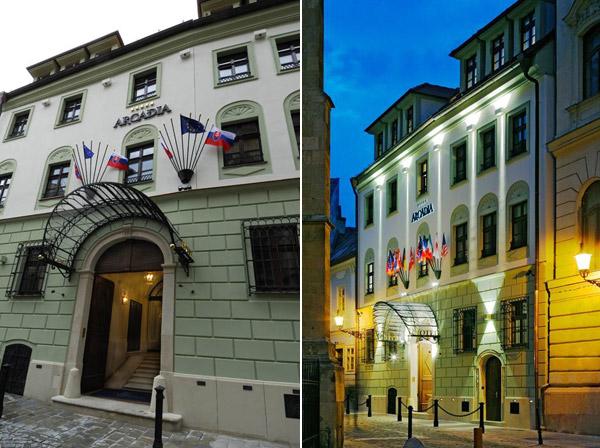Zgrada iz 13. veka postala prestižni hotel Arcadia u Bratislavi
