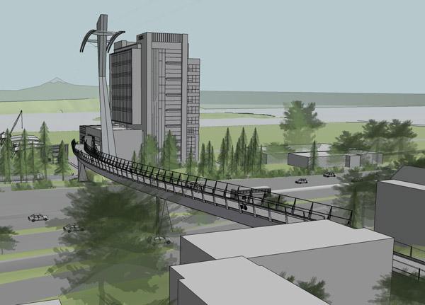 Portland gradi most za pešake i bicikliste dug 200 metara