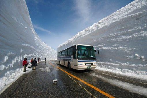 Snežni nanosi u Japanu