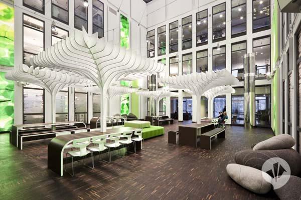 Savremeni redizajn MTV kancelarija u Berlinu