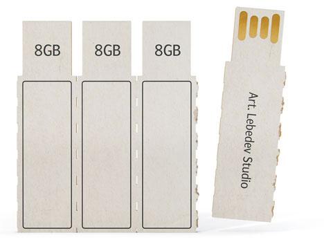 USB diskovi od kartona