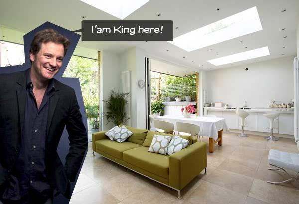 Oskarovac Colin Firth useljava se u novu kuću u Londonu