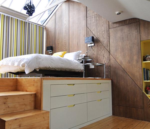 Uređenje malog stana na dva nivoa