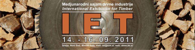Sajam drvne industrije IET Srbija 2011