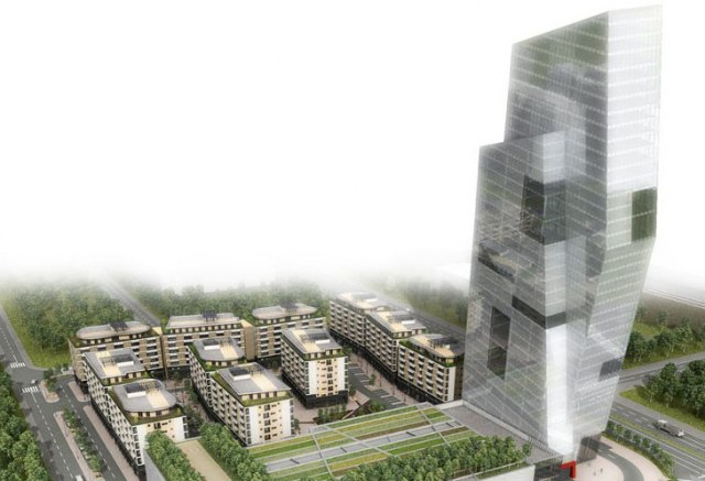 Beograd dobija novu najvišu zgradu