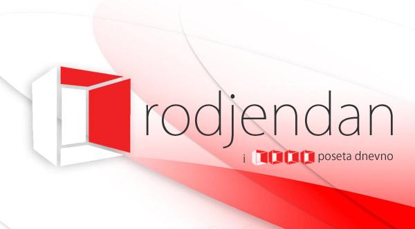 1.000 poseta dnevno za godišnjicu postojanja sajta Gradnja.rs