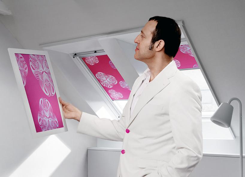 Karim Rašid dizajnirao siesta roletne za Velux