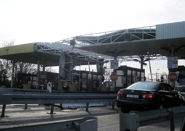 Rekonstrukcija naplatne rampe Novi Sad-Beograd