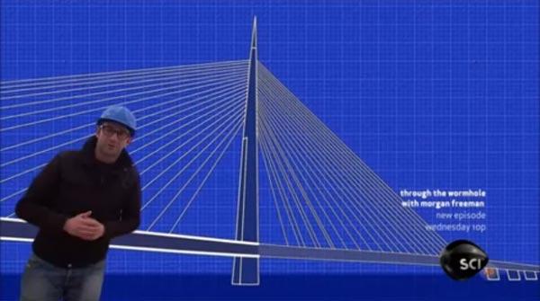 Emisija na Diskaveriju o mostu na Adi