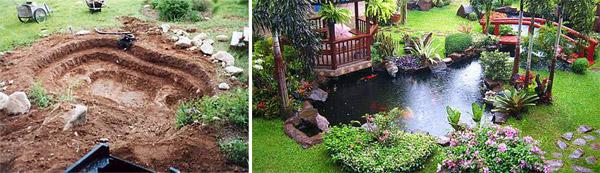 Vrtno jezerce – uputstvo za pravljenje i postavku