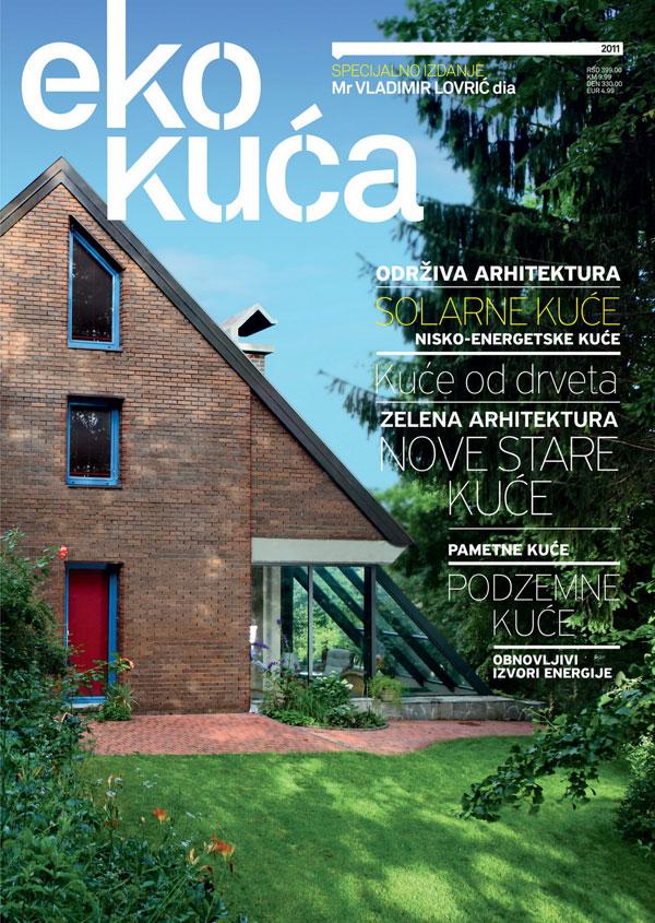 Eko kuća: Nov magazin za eko arhitekturu i kulturu