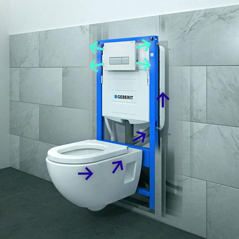 Geberit DuoFresh za ventiliranje kroz WC šolju