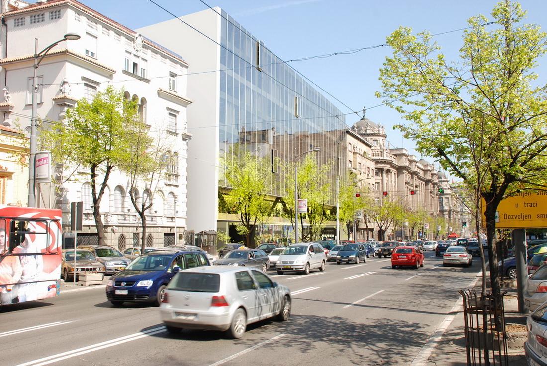 Nova zgrada tužilaštva u Kneza Miloša