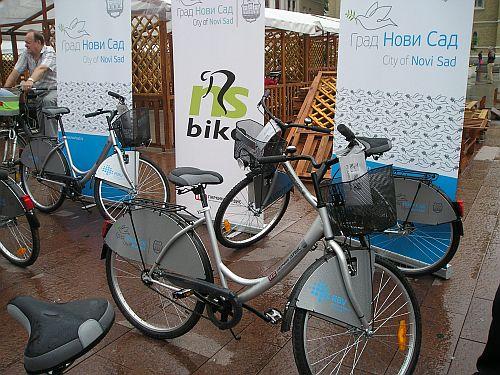 Novi Sad dobio bicikle za iznajmljivanje