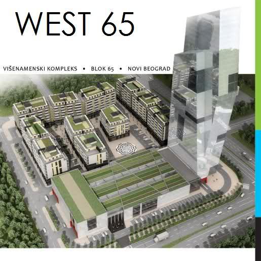West 65: Najviša zgrada u Beogradu