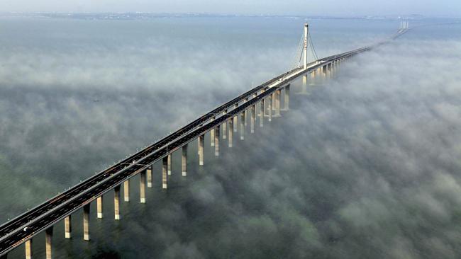 Najduži most na svetu otvoren u Kini
