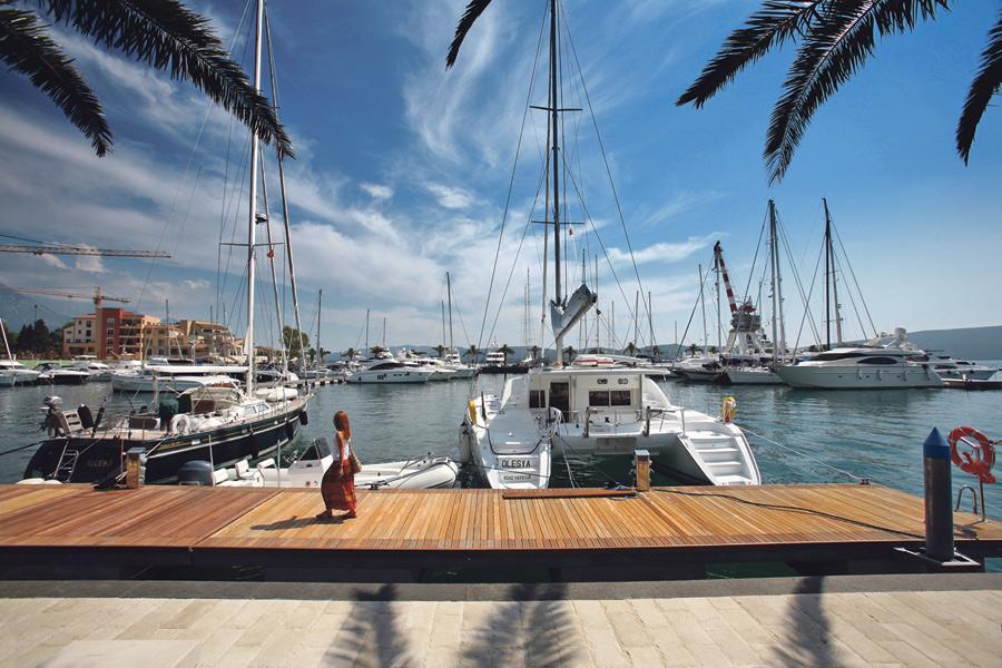 Porto Montenegro: Najluksuznija marina na Jadranu