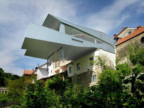 Levitirajući restoran u Austriji
