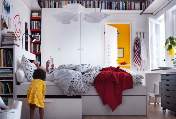 Najbolje Ikea spavaće sobe za 2012.