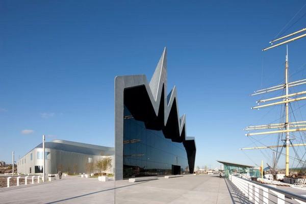 Inovativni Muzej transporta u Glazgovu