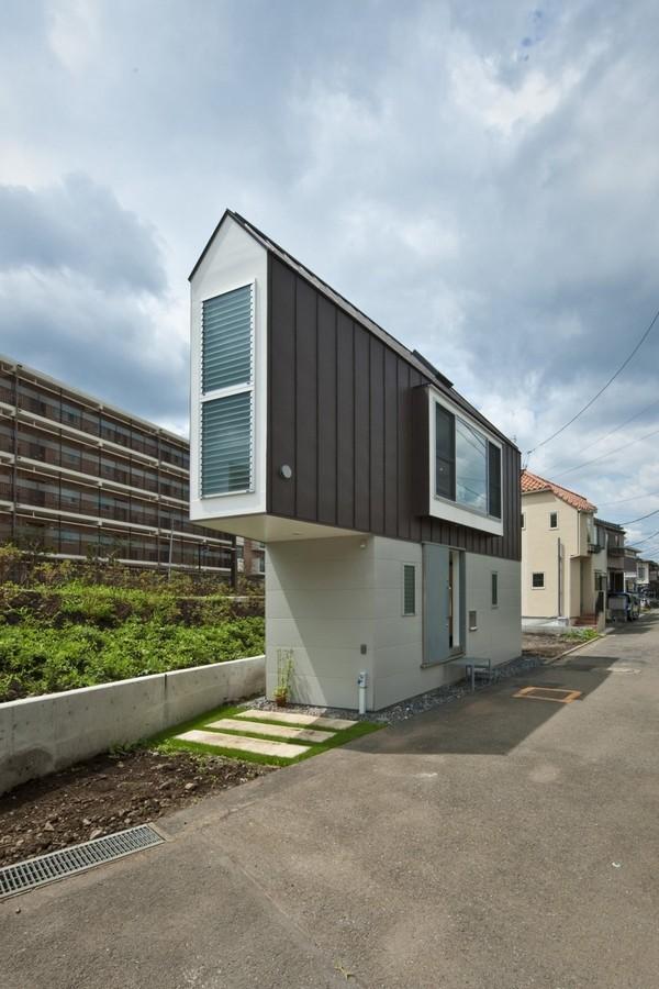 Mala trougaona kuća u Japanu