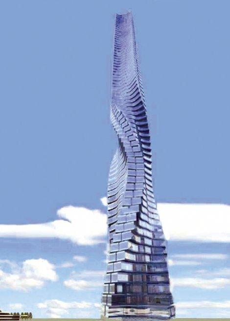 U Novom Beogradu planiraju rotirajući neboder visok 480 metara