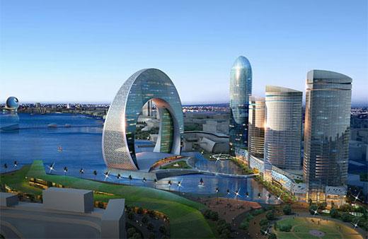 Azerbejdžan gradi hotel u obliku polumeseca