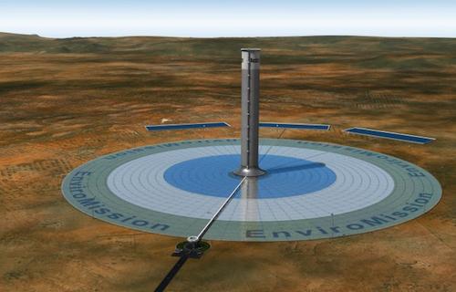 Gradi se najviši solarni toranj na svetu