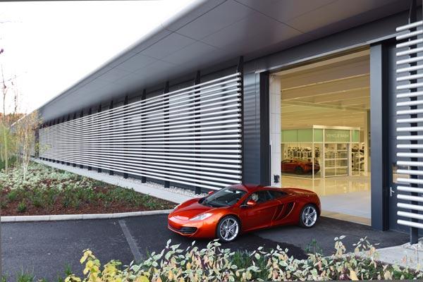 Novi McLarenov pogon s Trimo fasadom