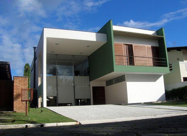 Impozantna moderna kuća u Brazilu