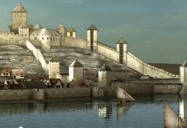 Izgled Srednjovekovnog Beograda U 3d