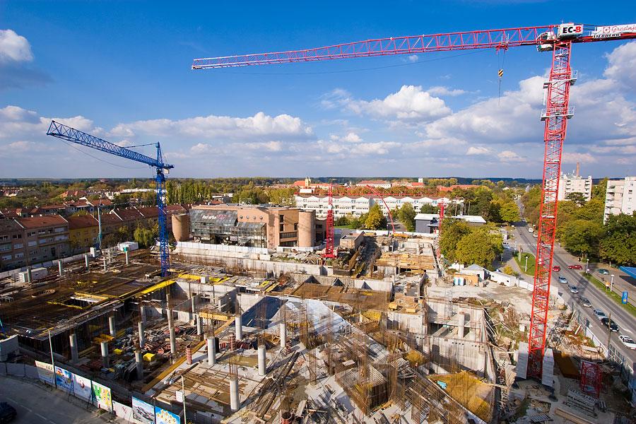 Porast broja građevinskih projekata u Srbiji