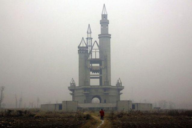 Napušteni lažni Diznilend u Kini