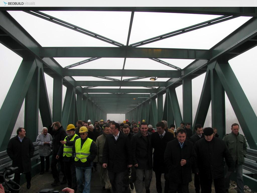 Otvoren most Na Savi kod Obrenovca